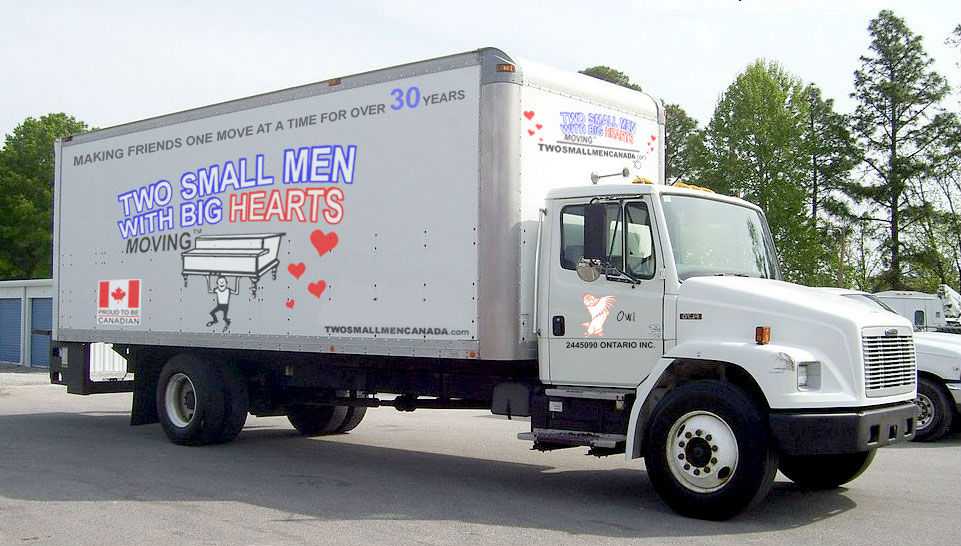 Two Small Men with Big Hearts Moving Company